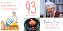 Fésűs Éva 93. születésnap
